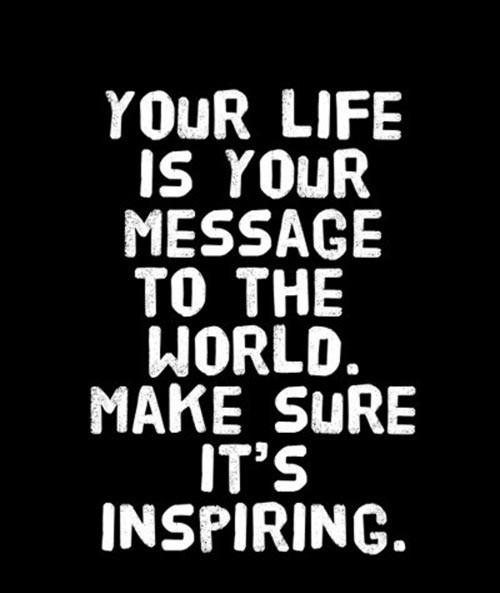 Make ur life inspiring...........