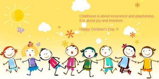 Happy Children's Day !